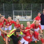 B2 – Ohne Auswechselspielerin auswärts in Meiendorf gewonnen