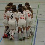 D1 – Team weiß und Team rot dominieren ihre Hallenrunden