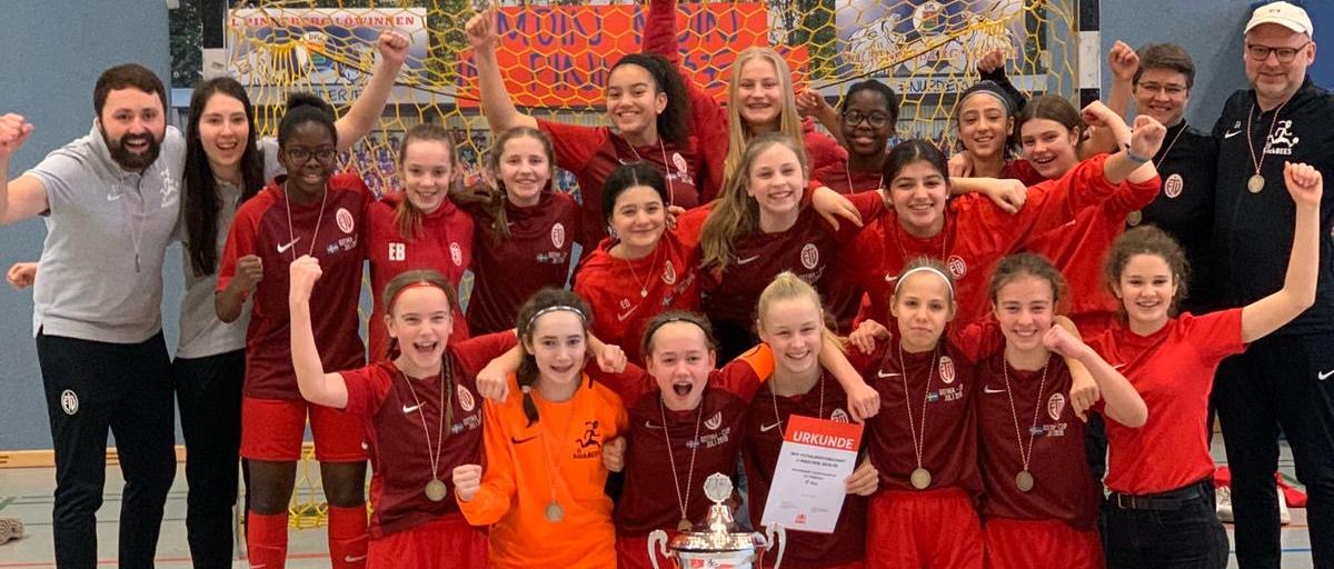 C1 gewinnt die Hamburger Futsalmeisterschaft
