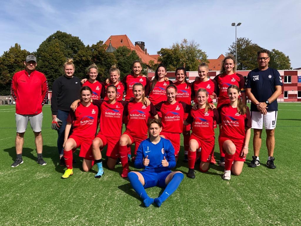 Frauen-Teams mit überzeugenden Ergebnissen in die 2. Pokalrunde eingezogen
